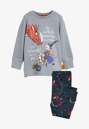 SET - Pyjama set - anthracite