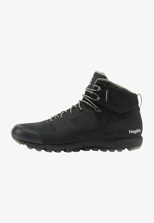L.I.M MID PROOF ECO  - Hiking shoes - true black