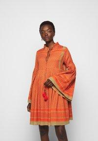 CECILIE copenhagen - SOUZARICA - Day dress - orange - 0