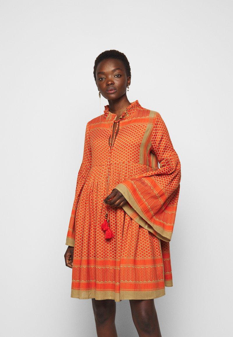 CECILIE copenhagen - SOUZARICA - Day dress - orange