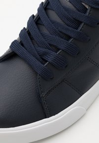 Polo Ralph Lauren - THERON III MID - High-top trainers - navy/light grey/white - 5