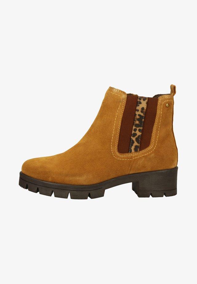 Ankle boots - saffron suede