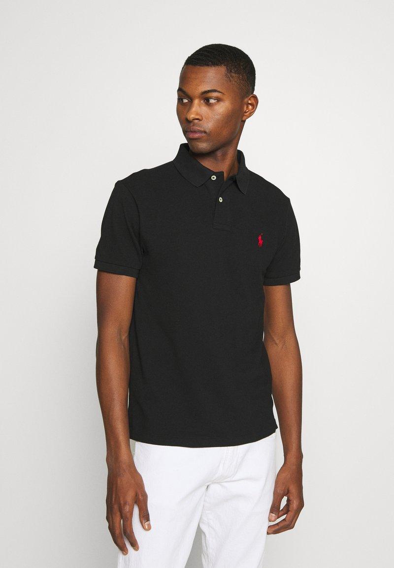 Polo Ralph Lauren - SLIM FIT MESH POLO SHIRT - Polo shirt - black