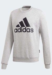 adidas Performance - BADGE OF SPORT FLEECE SWEATSHIRT - Sweatshirt - grey - 11