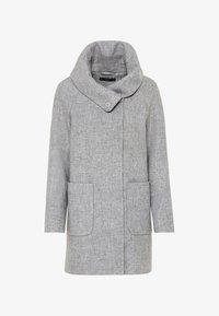 HALLHUBER - Classic coat - hell silber-melange - 3