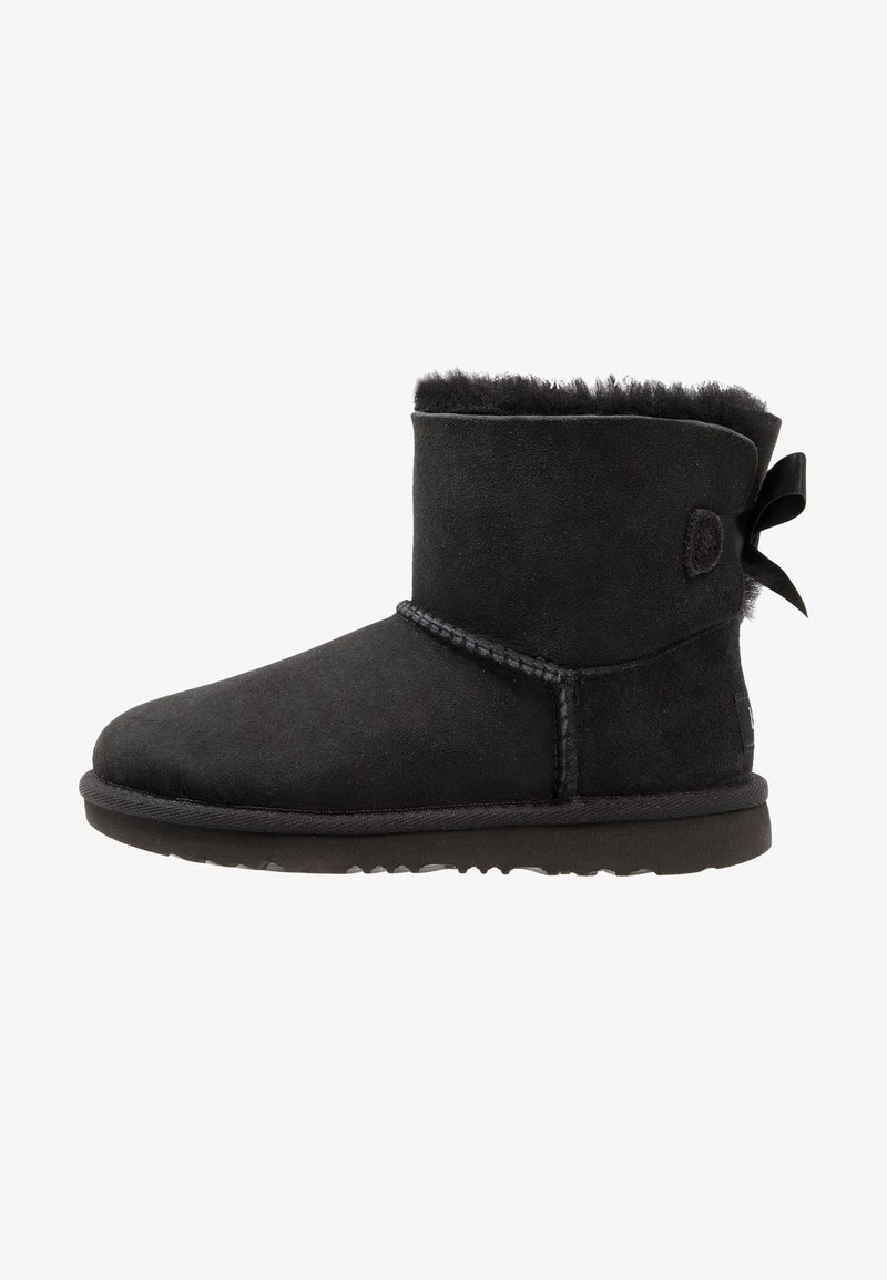 UGG - MINI BAILEY BOW II - Korte laarzen - black