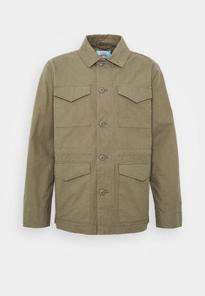 TRAVIS FIELD - Camicia - vintage green