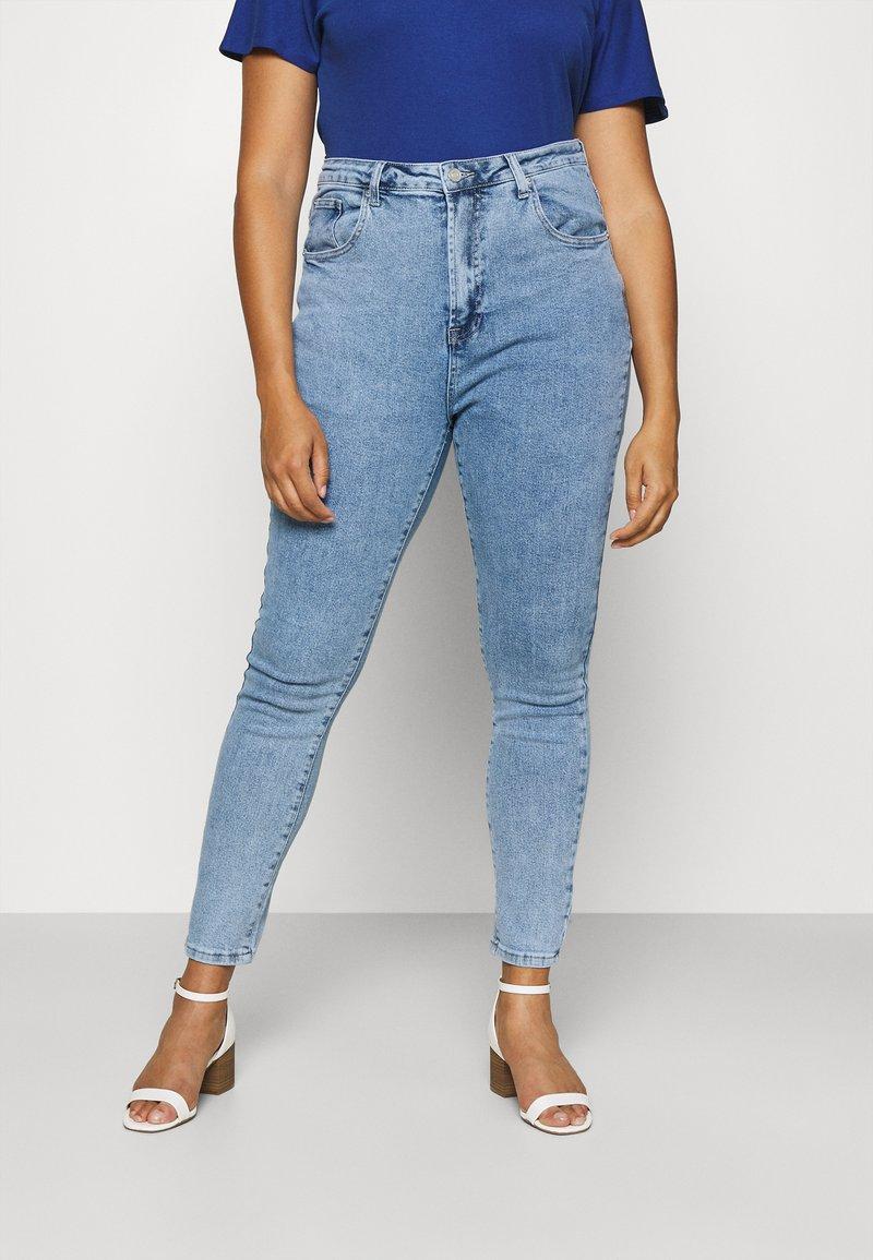 Missguided Plus - Slim fit jeans - blue