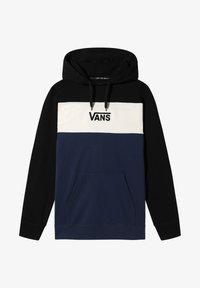 Vans - RETRO ACTIVE PO II - Sweatshirt - black-dress blues - 0