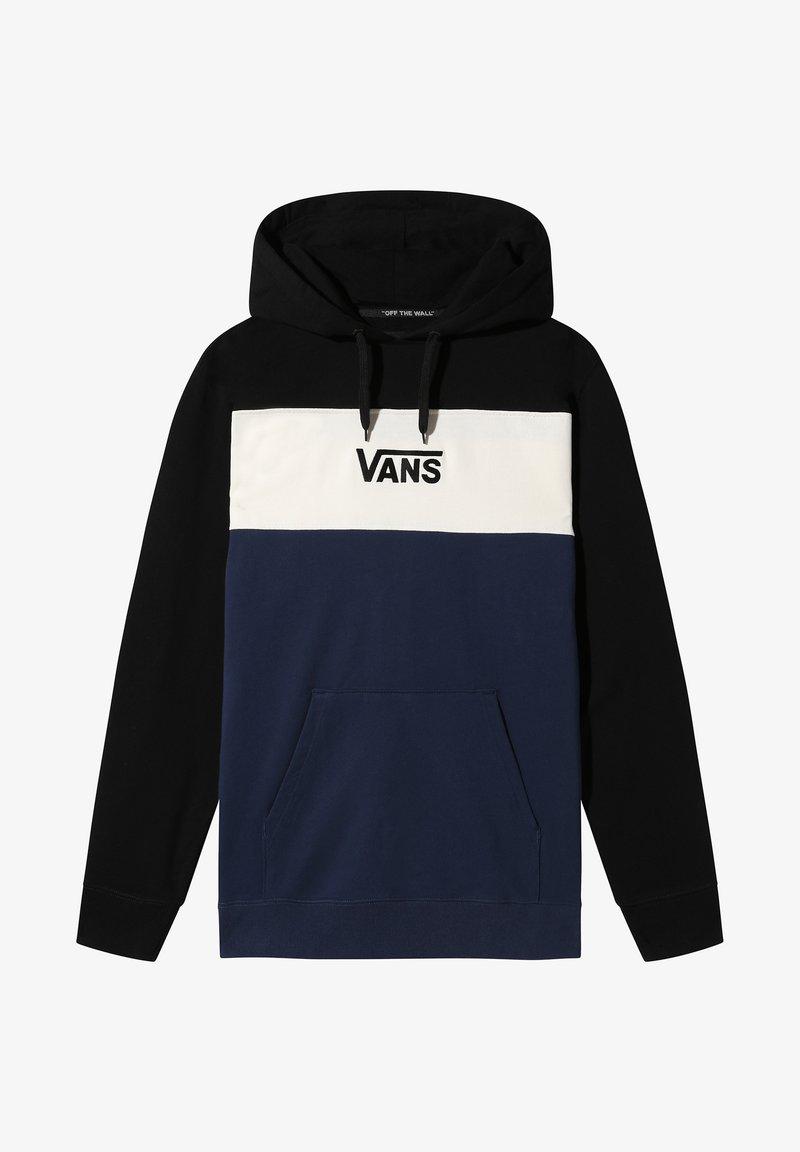 Vans - RETRO ACTIVE PO II - Sweatshirt - black-dress blues