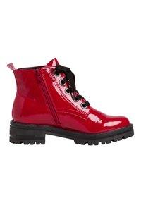 Jana - STIEFELETTE - Platform ankle boots - red patent - 2