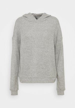 VMTIA OVERSIZED HOODIE VIP - Sweatshirt - light grey melange