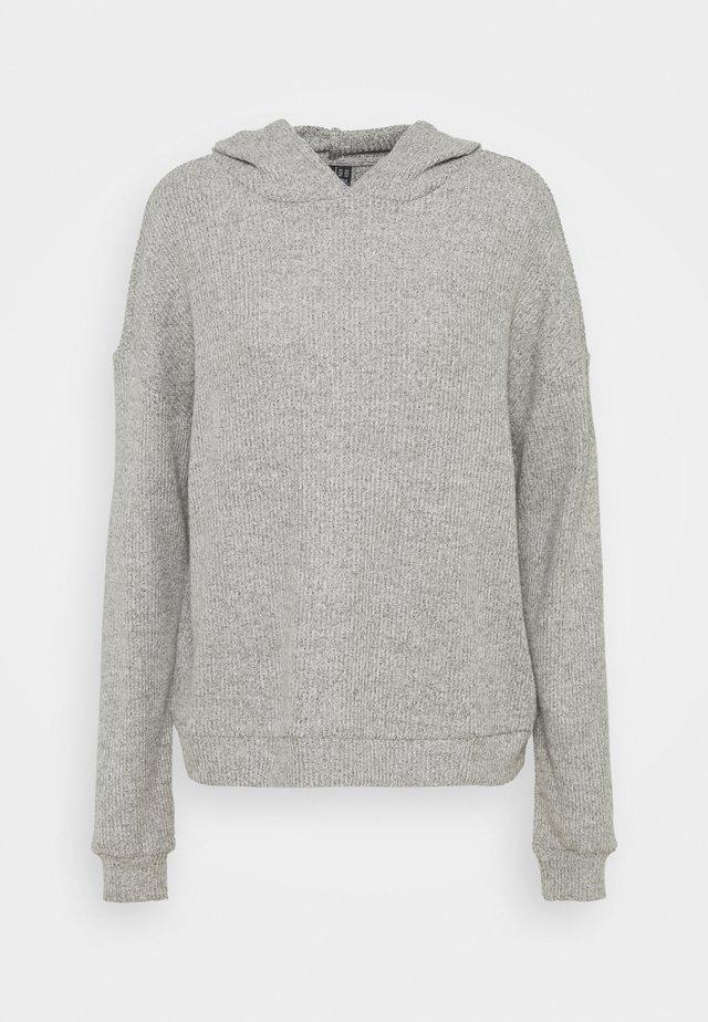 VMTIA OVERSIZED HOODIE VIP - Sweatshirt - light grey melange