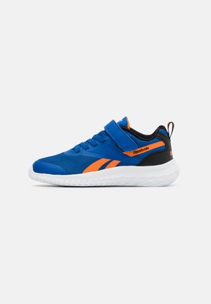 RUSH RUNNER 3.0 - Zapatillas de running neutras - vector blue/high vision orange/black