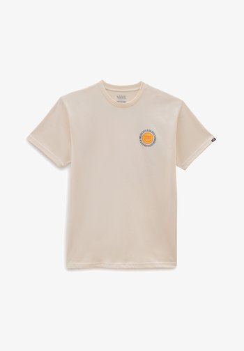ENDLESS RAYS - Print T-shirt - antique white