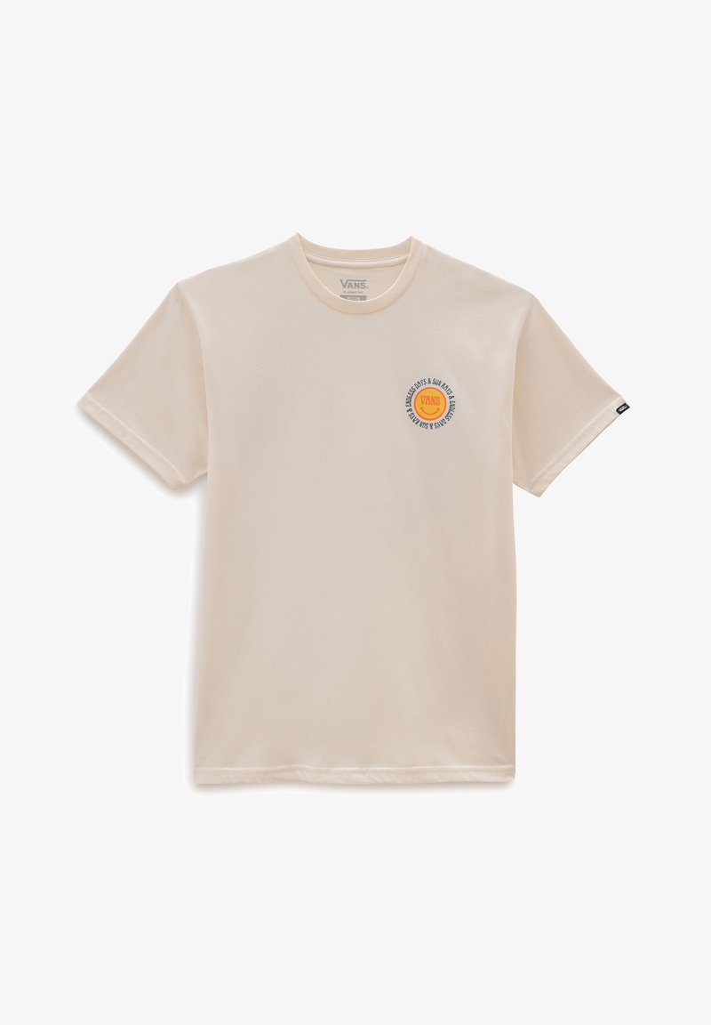 Vans - MN ENDLESS RAYS SS - Print T-shirt - antique white