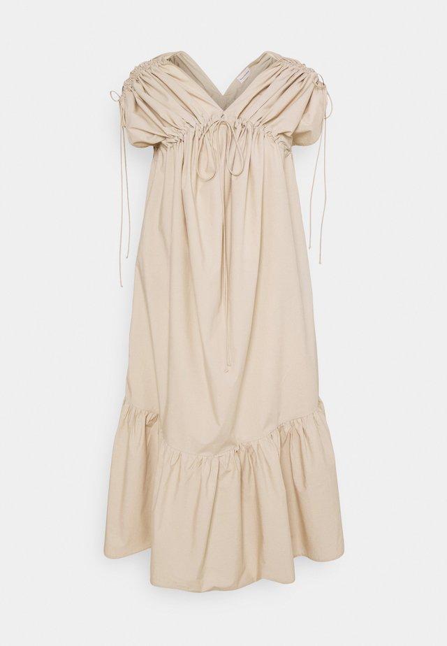 MIRONIA - Korte jurk - nature