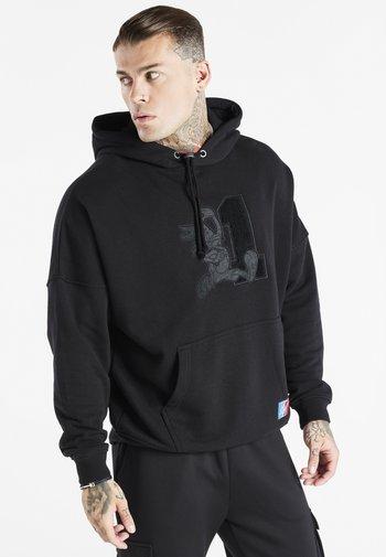 SPACE JAM LOGO HOODIE - Sweatshirt - black