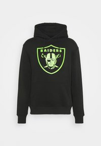 Fanatics - NFL LAS VEGAS RAIDERS NEON POP CORE GRAPHIC HOODIE - Sweatshirt - black - 4