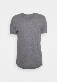 TEE WITH BACKPRINT - T-shirt basic - sky captain blue non-solid