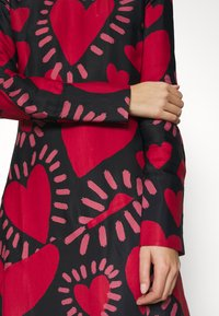Farm Rio - HEART MIDI DRESS - Day dress - multi - 5