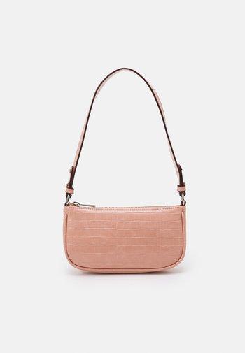 MIRELLA CROC MONI BAG - Handbag - dusty pink