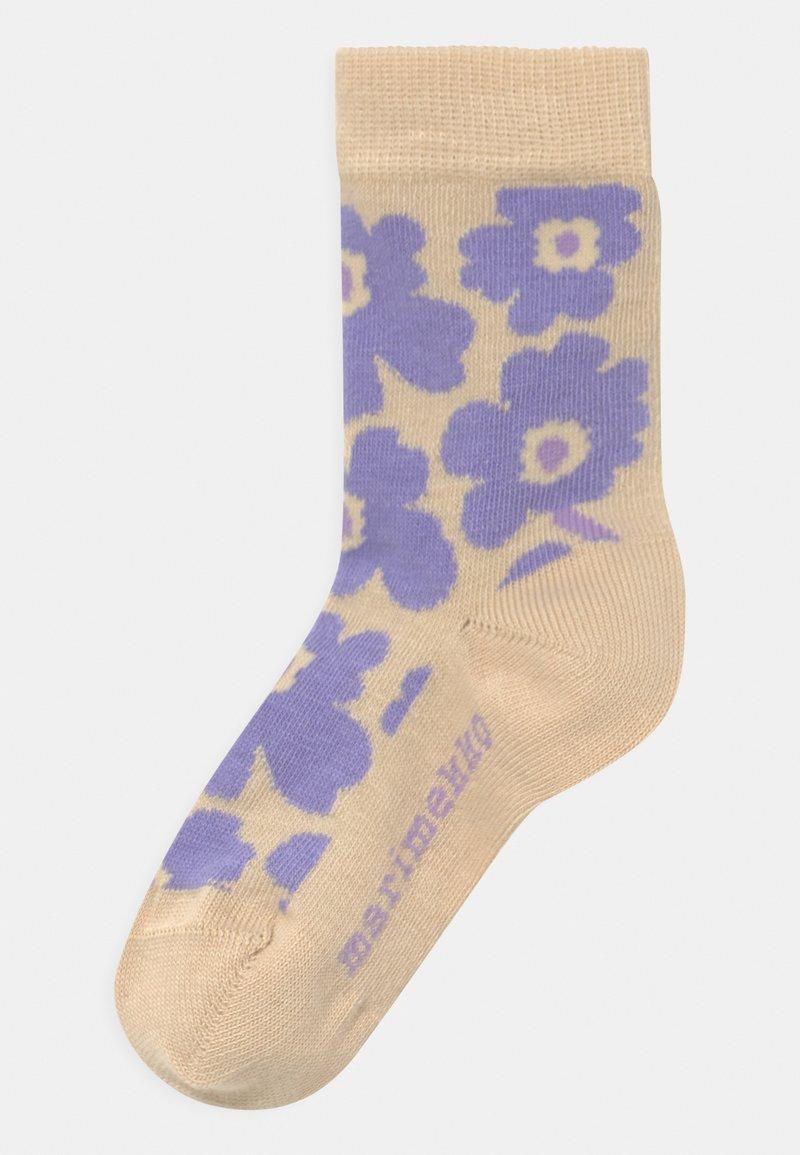 Marimekko - UMIKA - Socks - lavender/light beige
