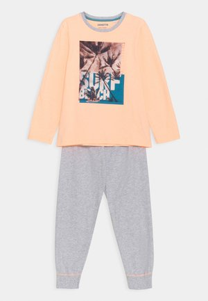 TEENS SCHLAFANZUG LANG - Pyjamas - neon melon