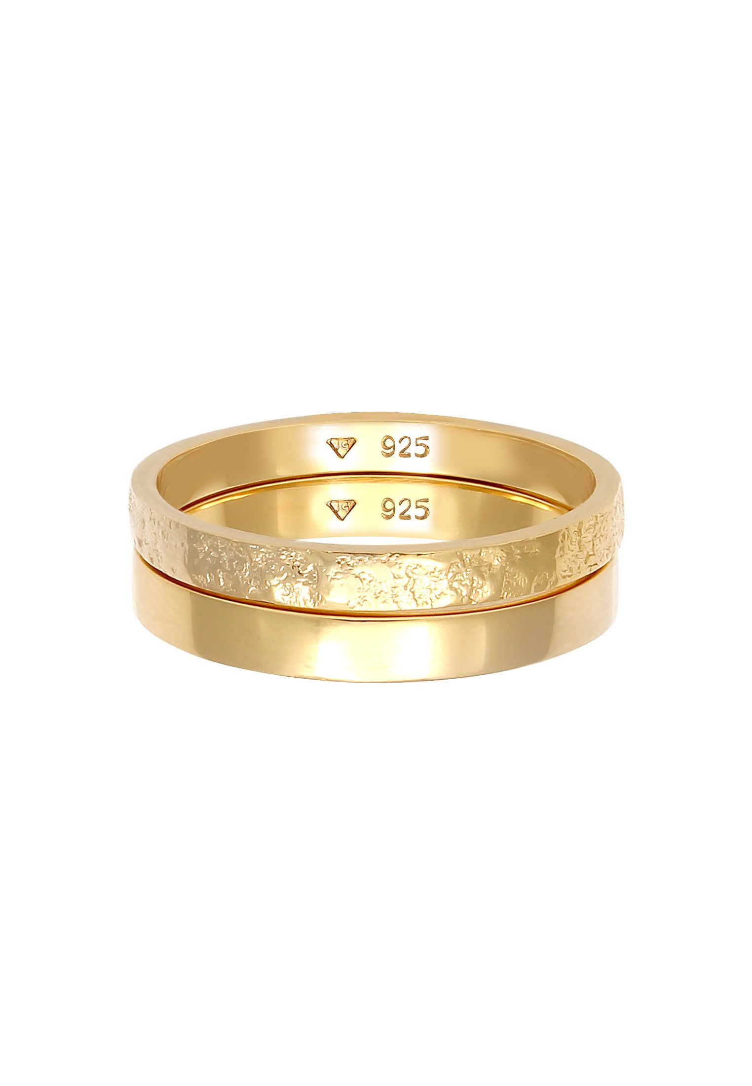Elli 2er Set - Ring Gold