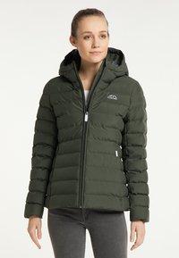 ICEBOUND - Winter jacket - dunkeloliv - 0