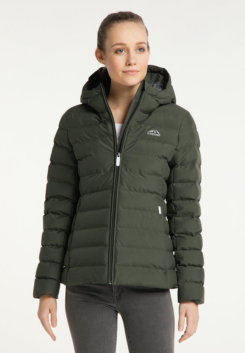 ICEBOUND - Winter jacket - dunkeloliv