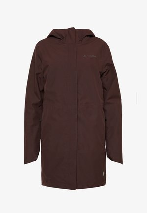 WOMENS CYCLIST PADDED PARKA II - Talvitakki - pecan brown