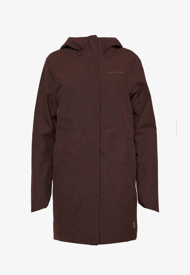 WOMENS CYCLIST PADDED PARKA II - Winter coat - pecan brown