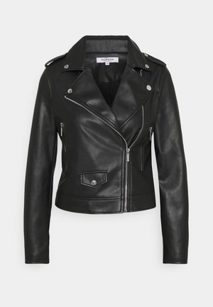 GABY - Faux leather jacket - noir