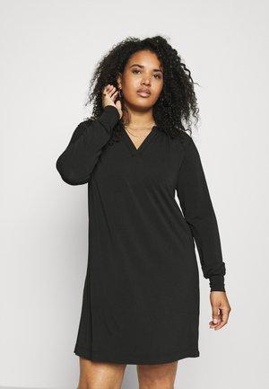 KCMIKKY DRESS - Jersey dress - black deep