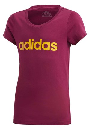 T-shirt z nadrukiem - power berry/active gold