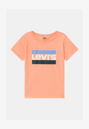 GRAPHIC - Print T-shirt - peach nectar