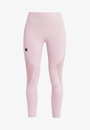 RUSH CROP - Leggings - pink fog/black