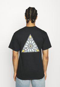 HUF - MOROCCAN TEE - Print T-shirt - black - 2