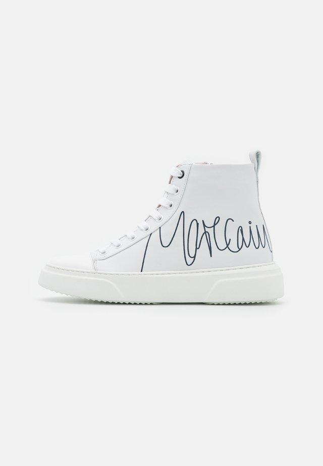 Sneakersy wysokie - white/black