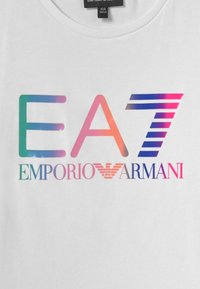 Emporio Armani - EA7  - Triko spotiskem - white - 2