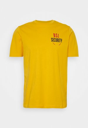 T-JUST-N41 T-SHIRT - Triko s potiskem - yellow