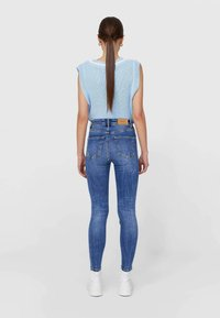 Stradivarius - Jeans Skinny Fit - light-blue denim - 2