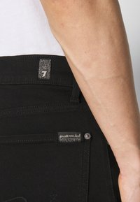 7 for all mankind - Straight leg jeans - black - 5