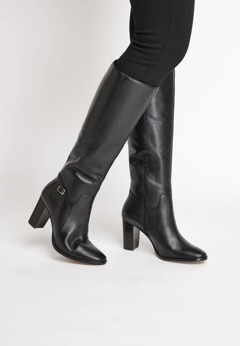 Next - TAN SIGNATURE  - High heeled boots - black