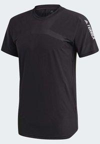 adidas Performance - ZUPAHIKE AEROREADY SHIRT - T-shirts med print - black - 12