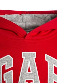 GAP - TODDLER BOY LOGO - Bluza z kapturem - red wagon - 3