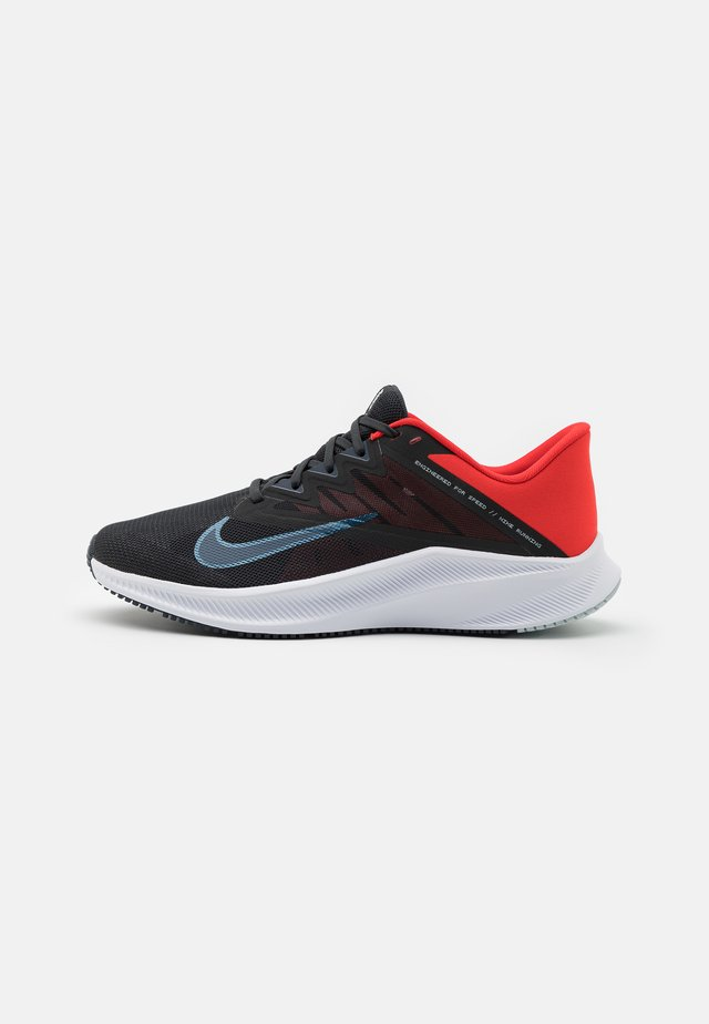 QUEST 3 - Scarpe running neutre - off noir/thunder blue/chile red/glacier blue/white