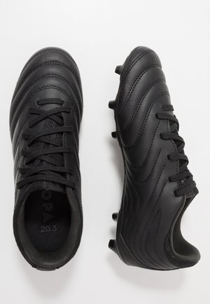 COPA 20.3 FG - Moulded stud football boots - core black/dough solid grey