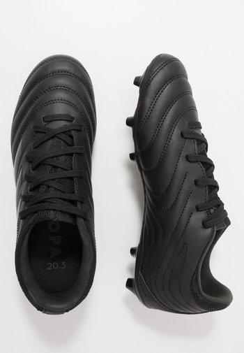 COPA 20.3 FG - Moulded stud football boots - core black/dough solid grey